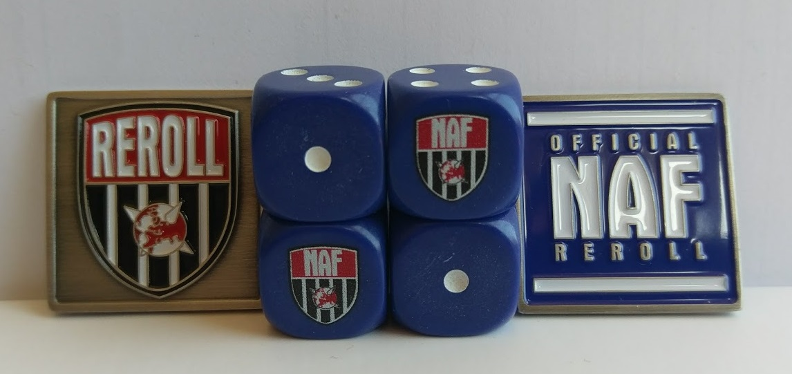 NAF dice & coin